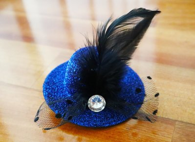 兒童小頭飾 帽子羽毛造型頭飾 髮夾