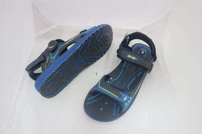 阿亮代言GP品牌 G8666柔軟中底 防水快乾 水陸兩用休閒涼鞋(男)~免運 40~44號  藍色