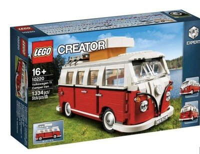 LEGO 樂高 10220 福斯 露營車 LEGO Creator VW T1