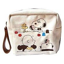 ==JAPAN--DISNEY (日版迪士尼SP) 刺繡包包 手拿包禮物 SNOPPY史努比!DK-2507Xpp