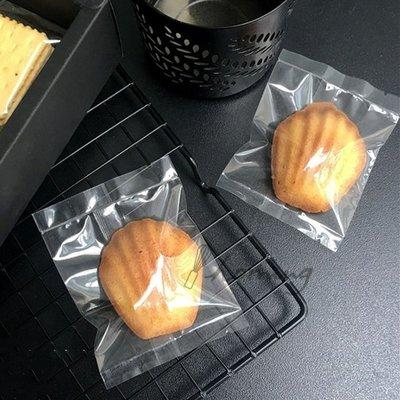 【homing】(10.5 X 13.5)空白無印刷亮面全透明烘焙點心西點包裝袋/餅乾袋/甜點袋/糖果袋/牛軋餅/雪Q餅
