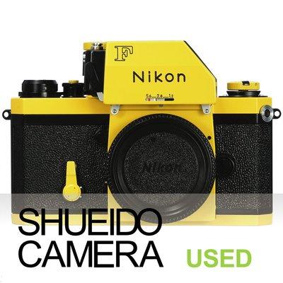 集英堂写真機【3個月保固】良上品 NIKON F PHOTOMIC+ FTN 測光頭 底片相機 後塗裝 黃黑 21940