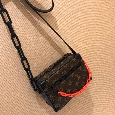 ✤寵愛Pamper for you✤LOUIS VUITTON MINI SOFT TRUNK 側背包小箱包