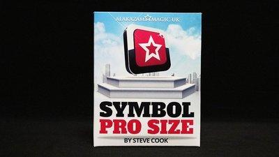 【天天魔法】【S1264】正宗原廠~心靈符號(百發百中ESP預言)~Symbol Pro by Steve Cook