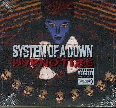 【嘟嘟音樂坊】System of a Down - Hypnotize  (全新未拆封)
