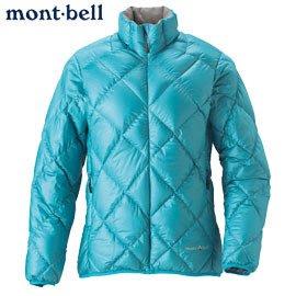 丹大戶外用品 日本【mont-bell】LT Alpine 女款羽絨外套 1101360-IGN 水藍色