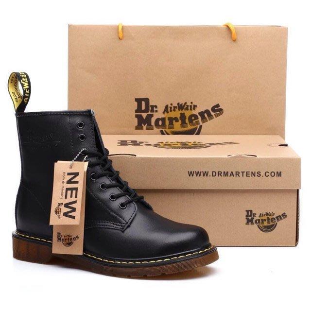 [優惠活動特價]Dr.Martens馬丁大夫情侶馬丁靴8孔1460男女真皮3孔皮靴工裝靴軍靴1461皮鞋