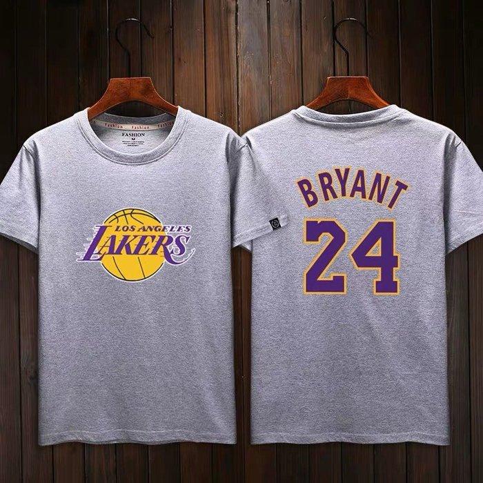 💖黑曼巴Kobe Bryant科比短袖棉T恤上衣💖NBA湖人隊Adidas愛迪達運動籃球衣服T-shirt男女992