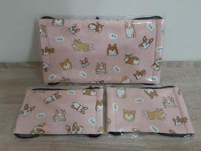 【小茉莉】手作幼童平面口罩/台灣棉布手作口罩→可愛狗狗-點點粉