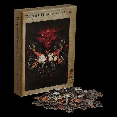 【丹】暴雪商城_Diablo Lord of Terror Puzzle 暗黑破壞神 拼圖