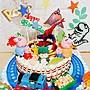 ❤歡迎自取 ❥ 雪屋麵包坊 ❥ 湯瑪士小火車系列 ❥ 恐龍 佩佩豬 蜘蛛俠 ❥ 八吋生日蛋糕 ❥❥ 85 折優惠中