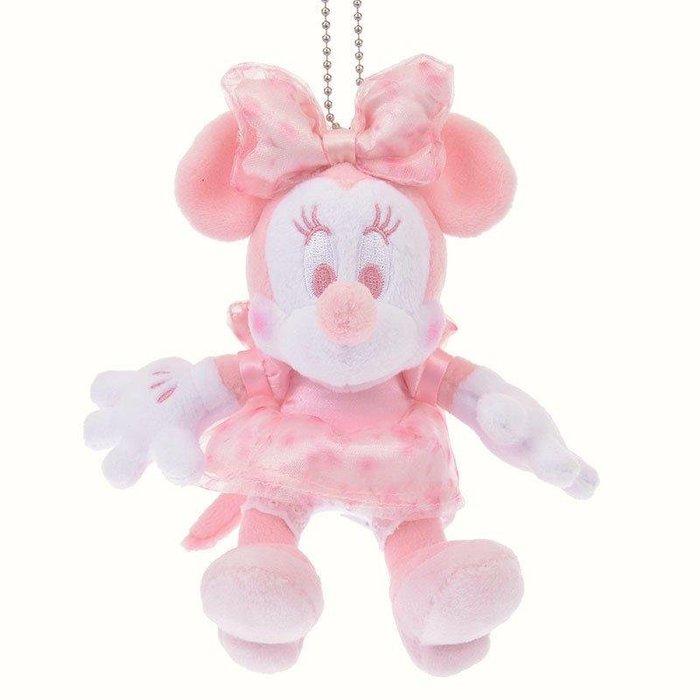 《現貨在台》日本迪士尼 櫻花色限定-米妮絨毛玩偶吊飾 粉色米妮玩偶吊飾 日本櫻花季週邊