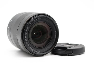 【青蘋果3C】Canon EF-M 18-55MM F3.5-5.6 IS STM MACRO 二手單眼鏡頭#35548