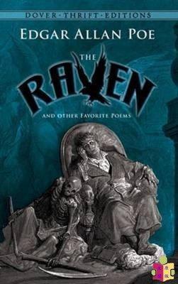 [文閲原版]愛倫坡:烏鴉及其他詩歌 英文原版 The Raven Dover Thrift Editions Edgar Allan Poe 外國詩歌