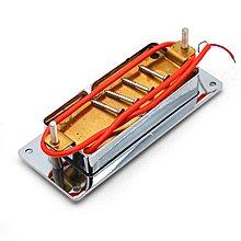 可樂屋 迷你LP電吉他雙線圈68X29MM小雙聯拾音器雙塊拾音器金屬邊框鉻色