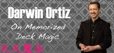 【天天魔法】【H1309】Darwin Ortiz on the Memorized Deck(加附記憶系統PDF檔)