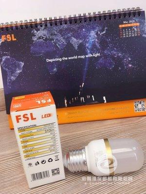 佛山照明 FSL 4W LED 柱形燈泡 E27螺絲頭 - Light Bulb