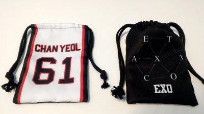 偶像王台北西門町明星商品訂製(158)束口袋-EXO-燦烈