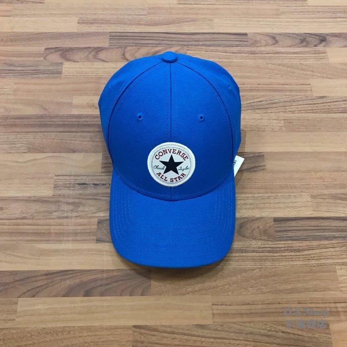 (D.S) Converse All Star Logo Cap 藍色 基本款 經典 老帽 10005221-A03