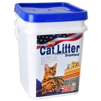 《缺貨》【寵物王國】CARL卡爾-天然活性碳多功能貓砂(無香/ 無塵/ 低敏)13kg, 免運費! 高雄市