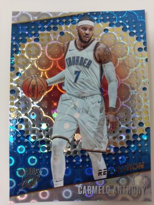 2017-18 Revolution Carmelo Anthony #4 Groove