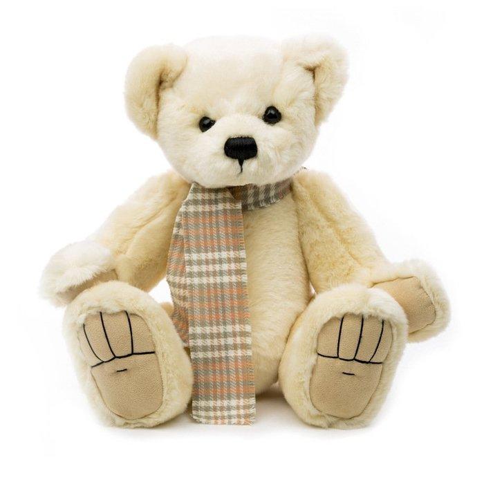 〖洋碼頭〗德國原產進口兒童玩具Clemens純手工經典懷舊波尼泰迪熊40cm L3029