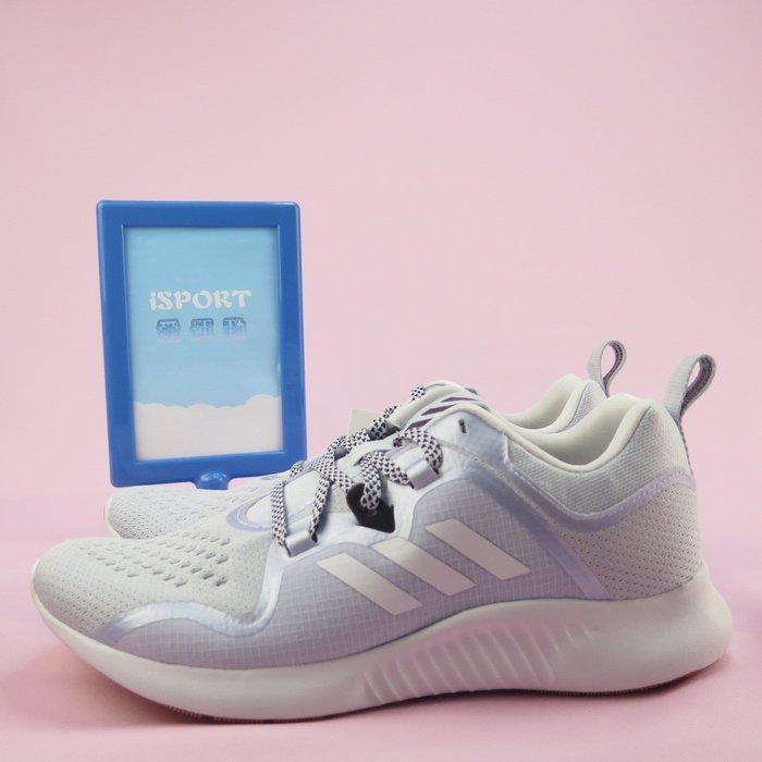 【iSport愛運動】adidas edgebounce w 慢跑鞋 正品 BD7081 女款 淺灰藍