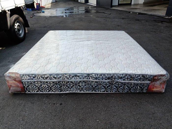 非凡二手家具 全新 6尺3線乳膠竹炭布雙人加大獨立筒床墊*獨立筒*乳膠床*雙人加大床*床墊*寢具*全新家具*全新床墊