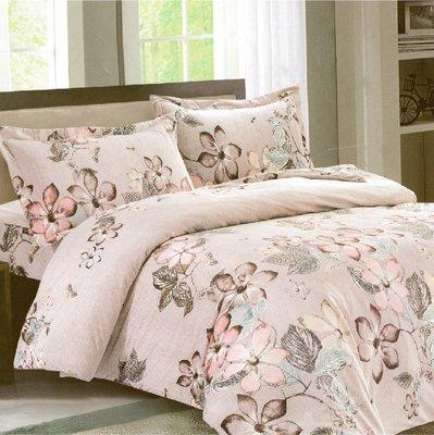 【Jenny Silk名床】聽見幸福.超細纖維.標準雙人床包組兩用鋪棉被套全套