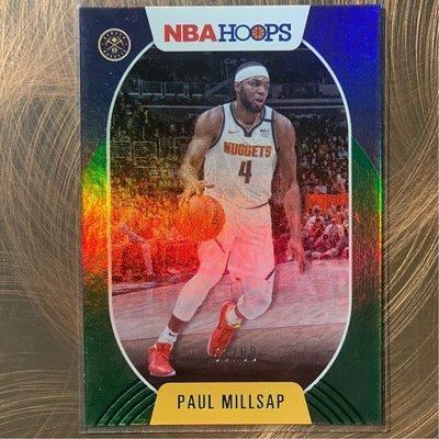 PAUL MILLSAP 2020-21 NBA Hoops prizms foil 53/99 nuggets