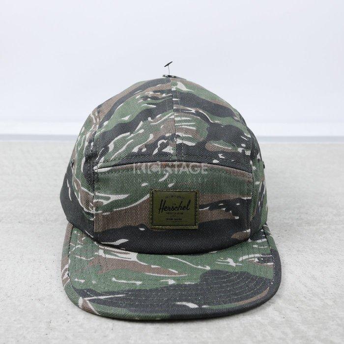 KS▸7折 HERSCHEL GLENDALE CLASSIC TIGER 綠迷彩 五片帽【1007SP-0394】