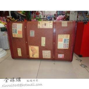INPHIC-復古懷舊皮箱 手提箱 老式木箱子道具 拍攝道具 復古皮箱