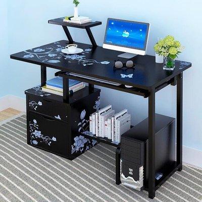 電腦桌電腦台式桌書桌簡約家用經濟型學生省空間辦公寫字桌子臥室  ATF 『』 全館免運 全館免運