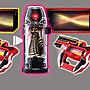 41+現貨不必等  BANDAI 萬代 超人力霸王 GEED 捷德 DX RAISER 變身器 單品 基德 小日尼三