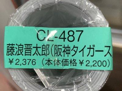 阪神虎隊 藤浪晉太郎 2015年月曆 全新未拆封 (每張都可當海報用)