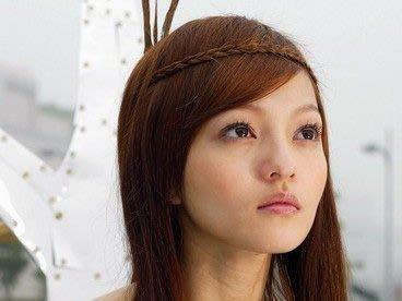 【櫻桃飾品】時尚麻花辮子造型假髮髮帶 髮束 髮圈 【20306】