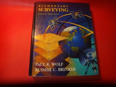 【愛悅二手書坊 18-27】Elementary Surveying ninth edition
