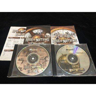 二手 無盒 PC GAME 王國的興起 & 政權保衛戰 中文版 / Big Huge Games / 微軟 / 電腦遊戲