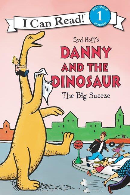 *小貝比的家*ICR DANNY AND DINOSAUR BIG SNEEZE /L1/平裝/3~6歲