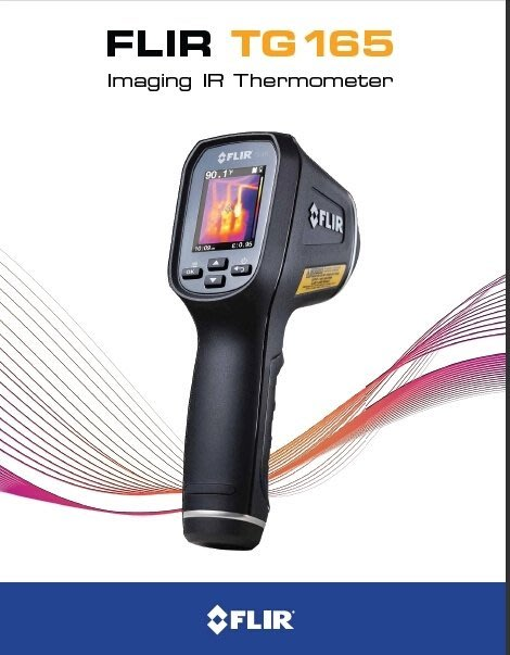 TECPEL 泰菱》FLIR 熱像儀 基礎型 TG165 熱顯像儀 紅外線溫度計 測溫槍 測溫儀 TG-165