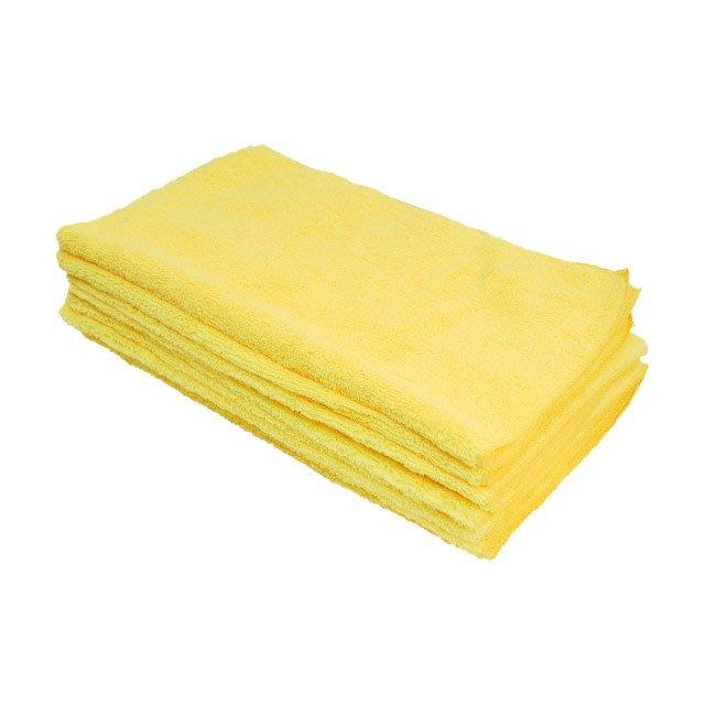 【TRENY直營】 纖維擦拭布 40 X 40 cm (10入) (洗車布、抹布、毛巾、擦車布) 1331
