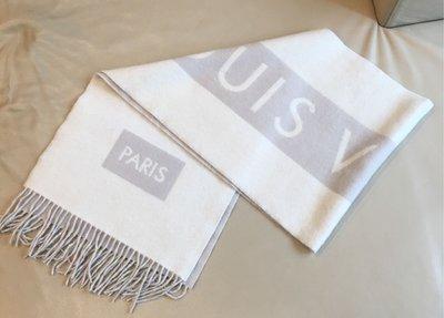 [熊熊之家3]保證正品Louis Vuitton  LV 100% cashmere 圍巾