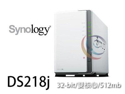 「阿秒市集」詢問有優惠 Synology 群暉 DS218j 2Bay 雙核 NAS 網路儲存伺服器 台中市