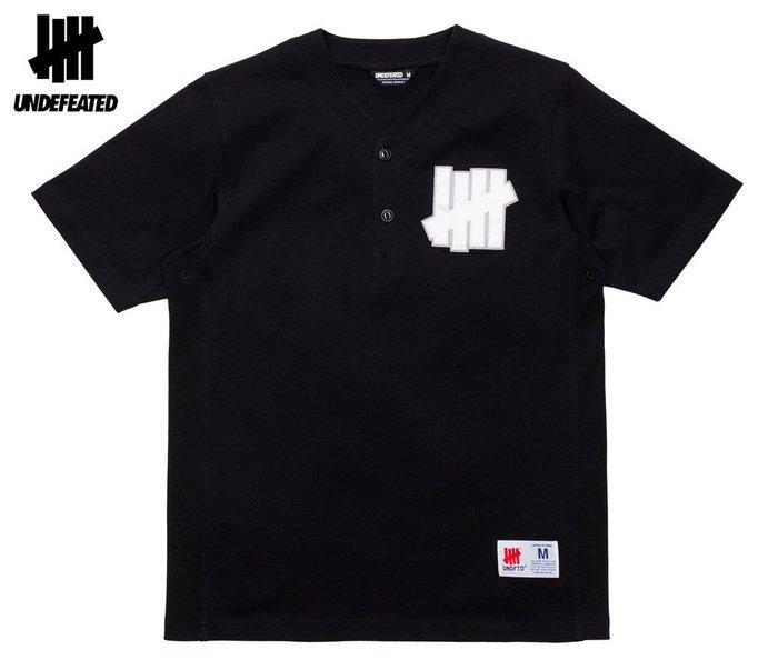 【超搶手】全新正品 UNDEFEATED PARK S/SL JERSEY 棒球衫 球衣衫 S M L XL