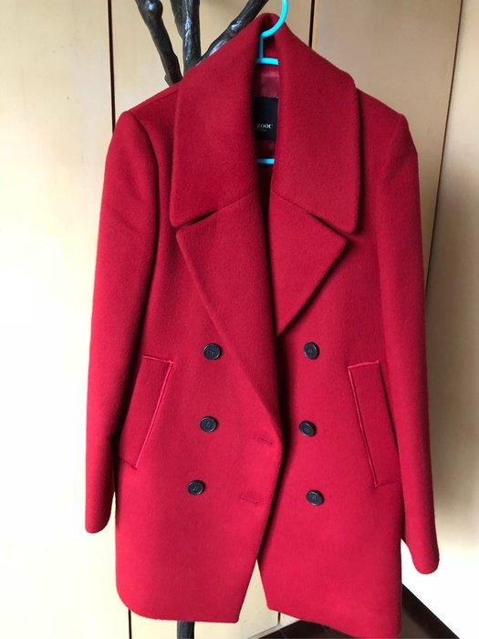 ZOOC新款品牌羊毛大衣外套