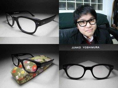 【信義計劃眼鏡】JUNKO YOSHIMURA 日本製 復古圓框 超越雷朋盧廣仲丁小雨方大同款