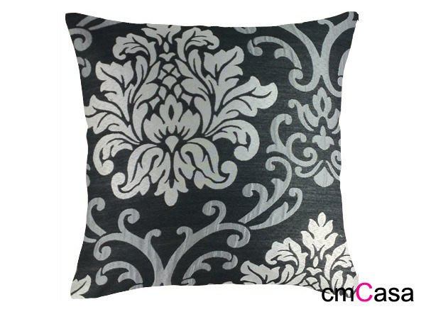 = cmCasa = [2274]歐式皇家後現代設計 雙色堤花英倫抱枕套 大氣多尺寸發行