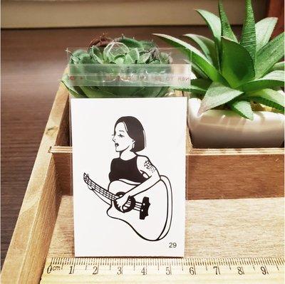 【萌古屋】百態人29單圖 - 男女防水紋身貼紙刺青貼紙 K43