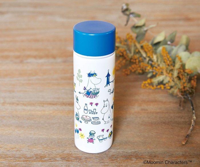☆Juicy☆日本雜誌附贈 MOOMIN 嚕嚕米 亞美 小不點 迷你 保冷保溫杯 隨行杯 保溫瓶 水瓶 環保杯 隨行杯