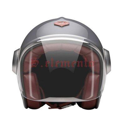 【預購優惠】Ateliers Ruby 安全帽 Belvedere Foch 碳纖維 3/4 復古帽